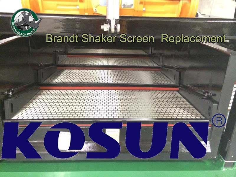 Brandt shaker screen replacement