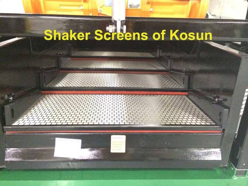 shaker screens