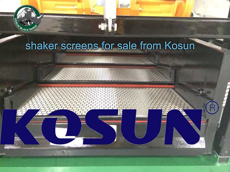 shaker screens for sale