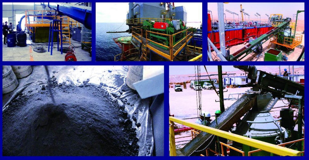 drilling waste treatment system